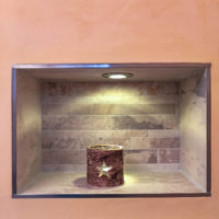 Badrenovierung vom Fliesenleger aus Zäckwar