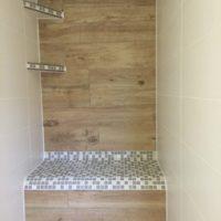 Badmodernisierung mit integriertem Duschsitz